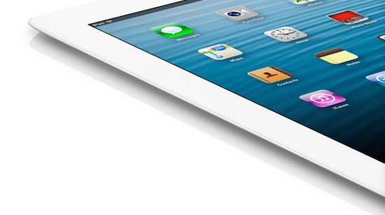 iPad close up