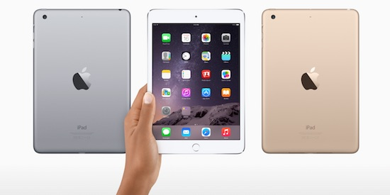 'Apple komt met nieuwe versie iPad mini