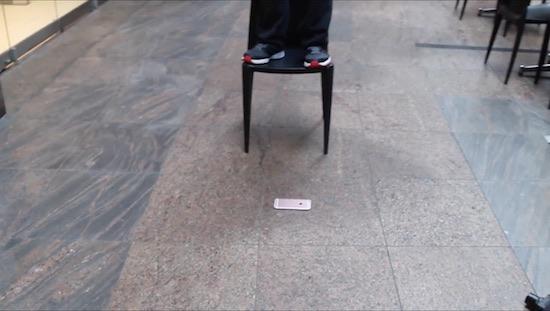 iPhone 6S op de grond