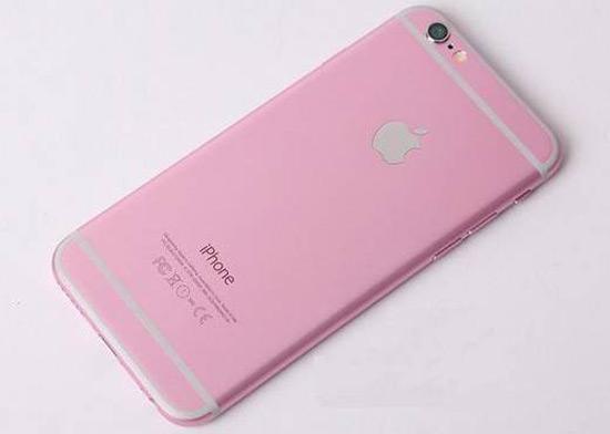 iPhone 6s in roze uitvoering