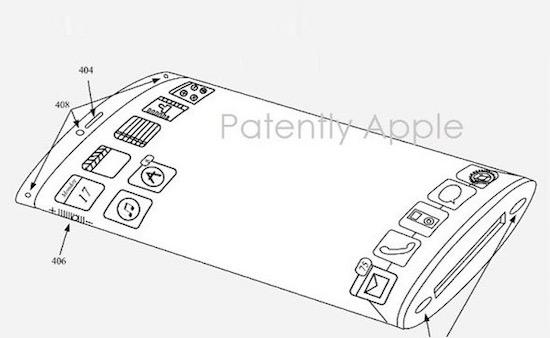 Apple patenteert telefoon met gebogen scherm