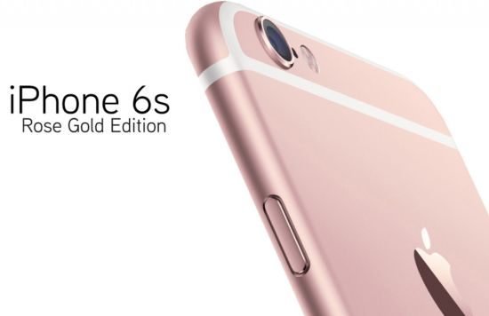 iPhone 6S roze