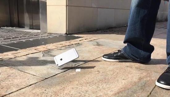 iPhone valt van 40 verdiepingen naar beneden