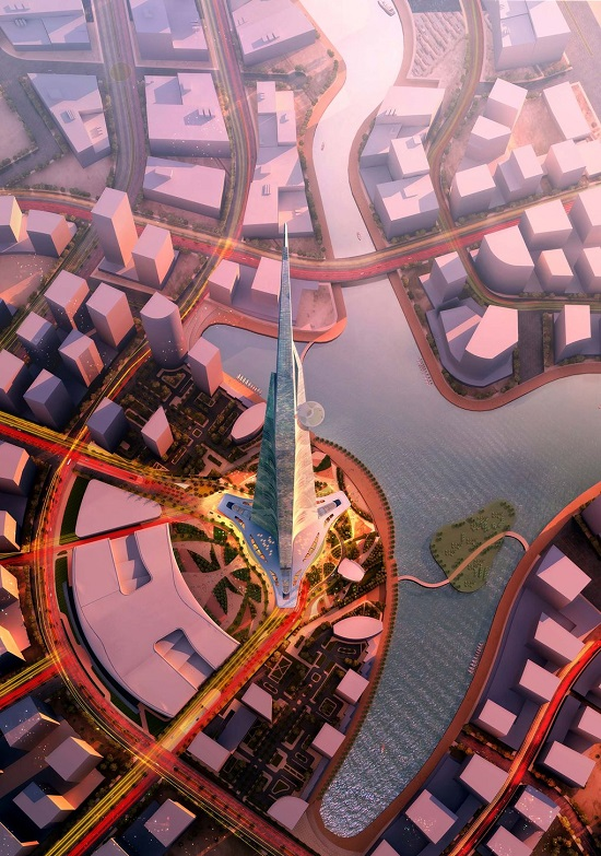 Jeddah recht boven
