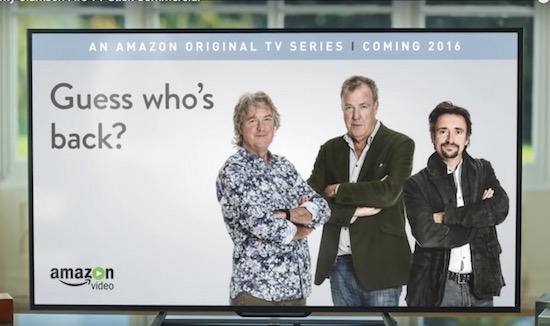 Nieuwe autoshow van Jeremy Clarkson wordt geschoten in 4K