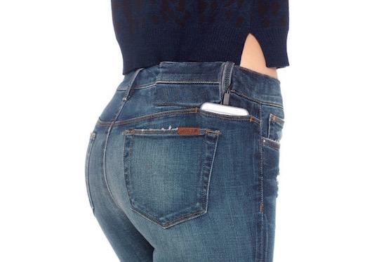Deze broek is uitgerust met een accu voor je iPhone