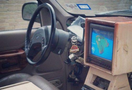 Jurassic Park Dashboard
