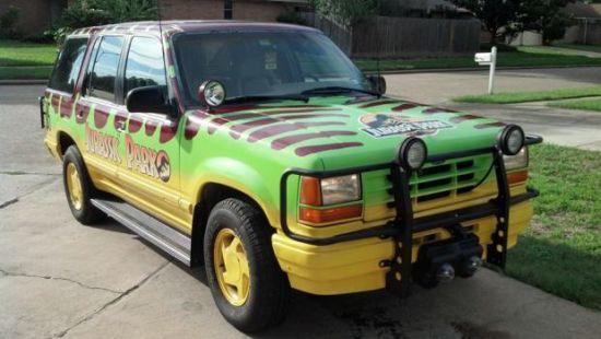 Jurrassic Park Ford Explorer