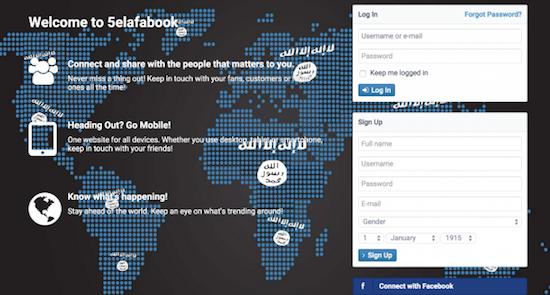 IS komt met eigen sociale netwerk