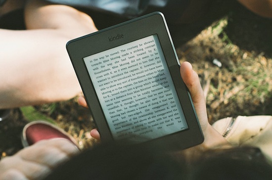 De boeken van Amazon lees je tegenwoordig op een Kindle