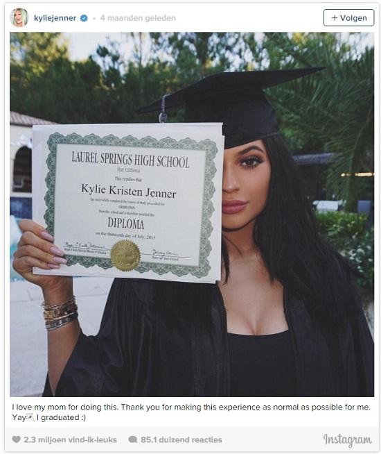 Kylie Diploma