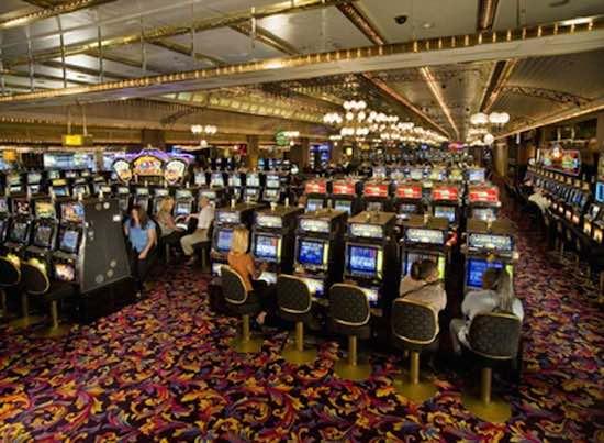 Een casino in Vegas