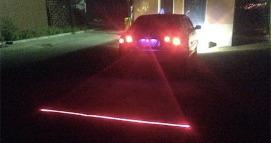 deze laser zorgt voor zicht op andere weggebruikers tijdens dichte mist