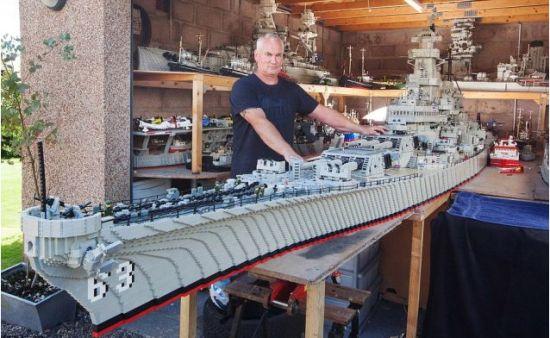 Lego marineschip