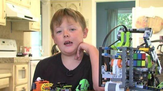Lego Robot Rubiks