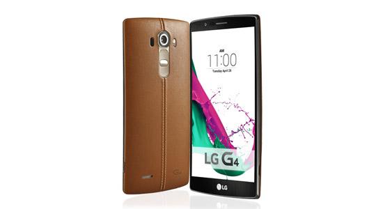 LG G4 met backcover van leer