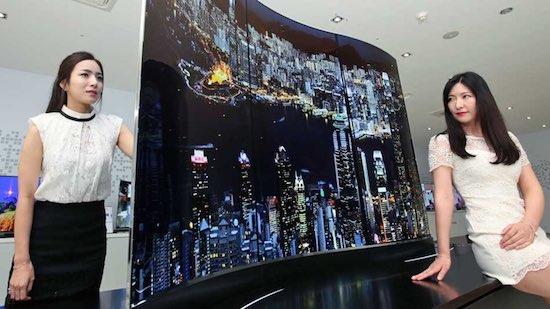 LG TV van 111-inch