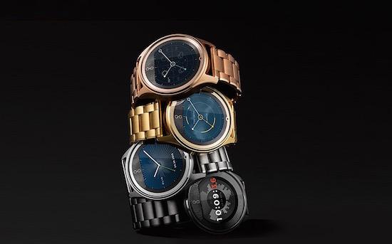 Zo kan het ook: een slim horloge in 24 karaat goud