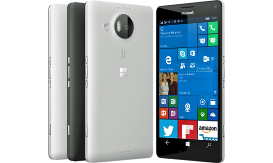 Nieuwe beelden Lumia950XL