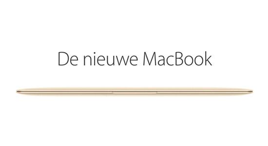 De nieuwe Macbook blijkt net zo snel als een Macbook Air uit 2011