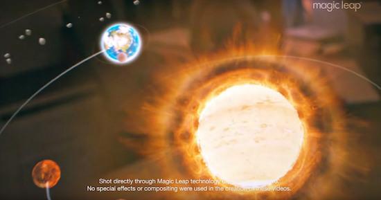 Dit is wat je ziet met een Magic Leap
