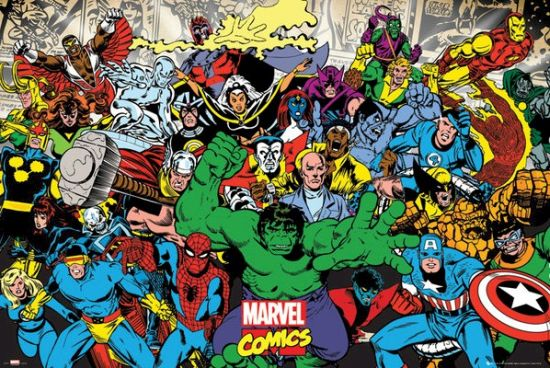 Marvel Comics Retro