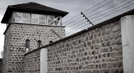 Het concentratiekamp in Mauthausen