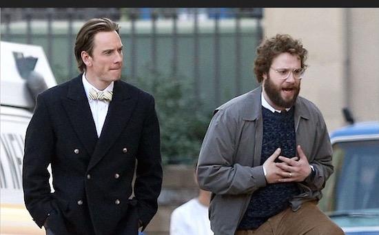 Hier lopen de nieuwe Steve Jobs en Michael Fassbender