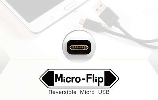 Eindelijk: een omkeerbare USB-lader voor je Android-telefoon