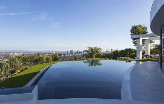 Minecraft huis zwembad