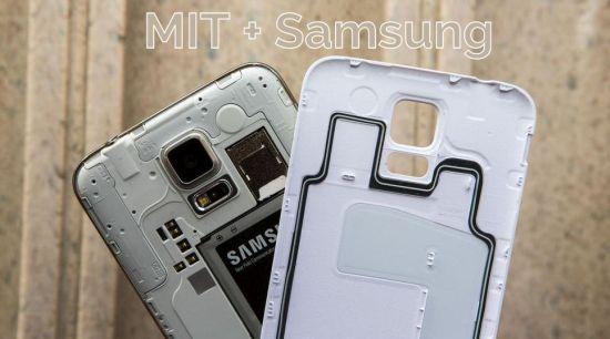 MIT Samsung batterij