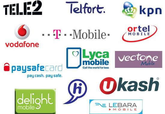 Mobiele Providers