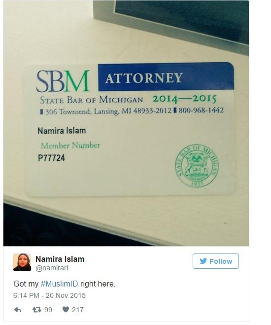Moslim ID advocaat