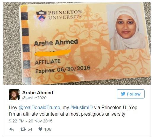 Moslim ID Princeton