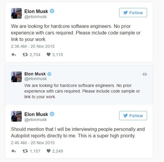 Tweets Musk