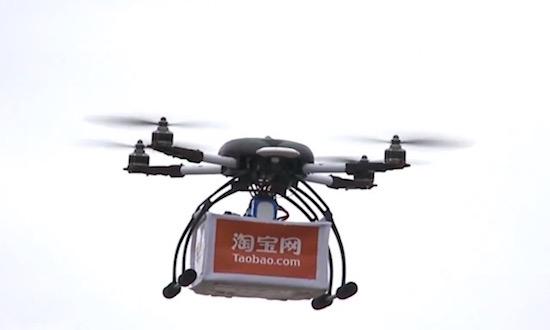 Pakketjes bezorgen per drone, in China gebeurt het