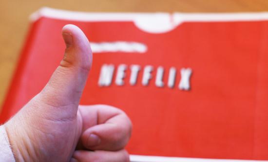 Netflix duim