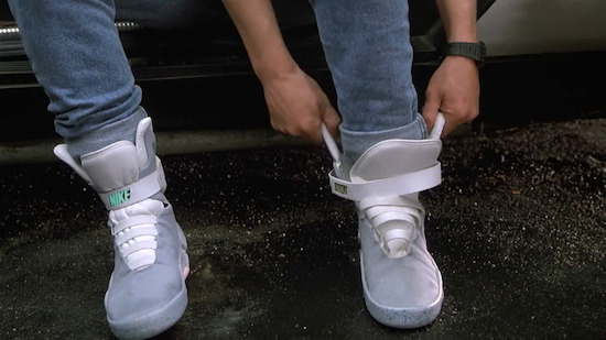 Back to the Future Nikes mogelijk te koop