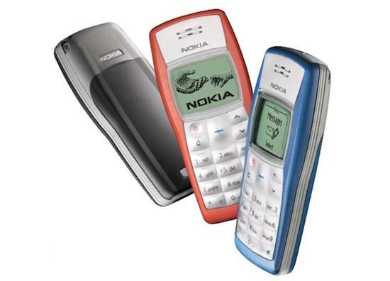 Huh? Er is een Nokia 1100 met Android 5.0 gespot