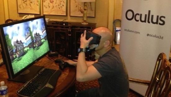 Oculus Rift op de PC
