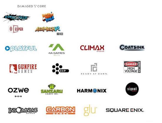 Oculus game developers