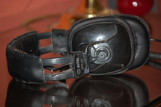 Oldschool headphone