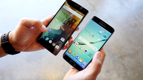 OnePlus 2 vs. Samsung Galaxy S6