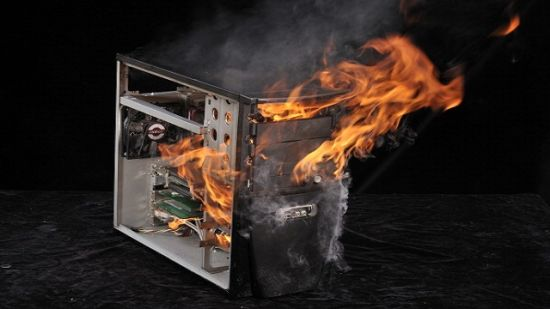 PC vuur