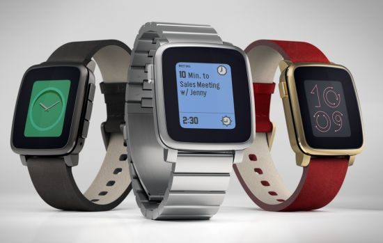 Pebble Time Watches