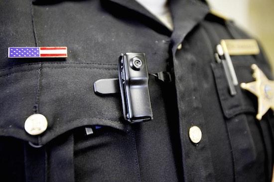 Body cam bij een Amerikaanse agent