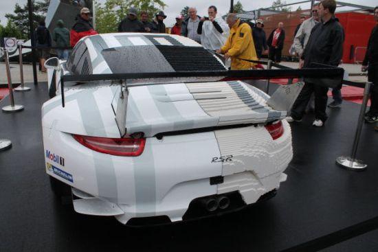 Porsche lego achterkant
