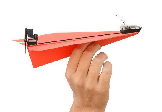 PowerUp 3.0 het afstandsbestuurbare vouwvliegtuigje