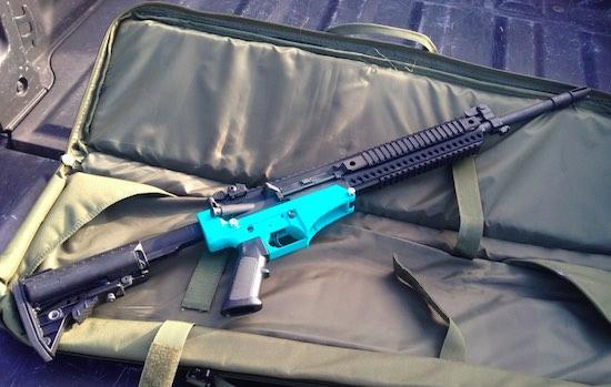 Amerikanen printen geweer dat big ass kogels afvuurt