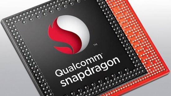 Een Qualcomm snapdragon chip